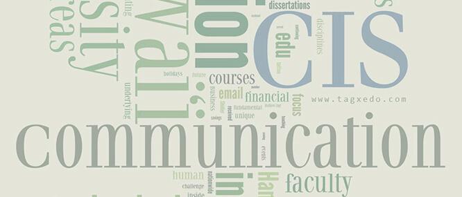 Communication & Information (CIS) Sciences, Interdisciplinary PhD